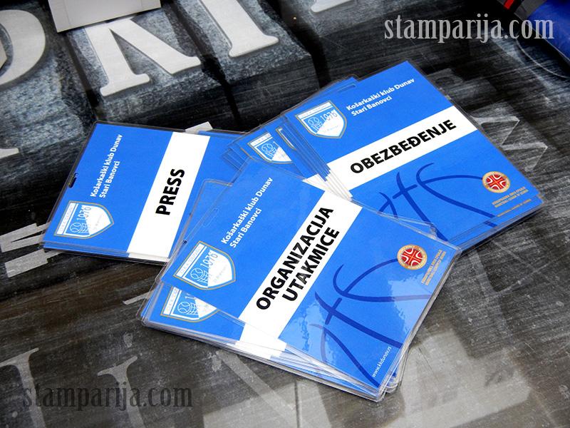 stampanje akreditacija, stampanje id kartica, plastificirane akreditacije, izrada akreditacija, izrada id kartica