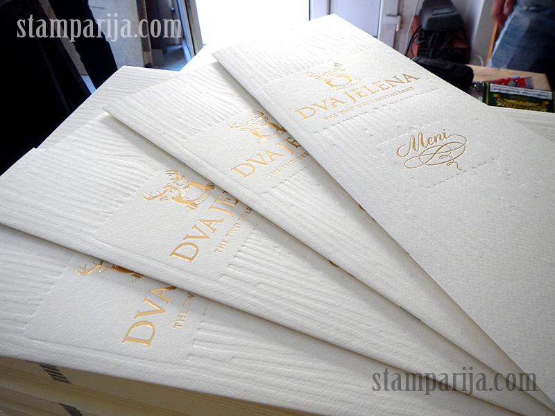 stampanje jelovnika, stampanje menija, karte pica, karta pica, restoranski meniji
