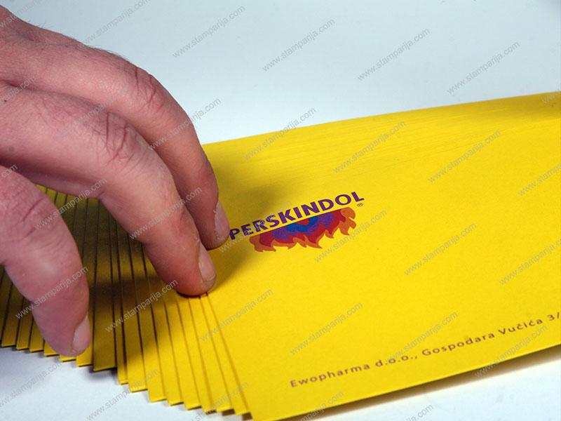 ameriken koverte, stampa, izrada koverata