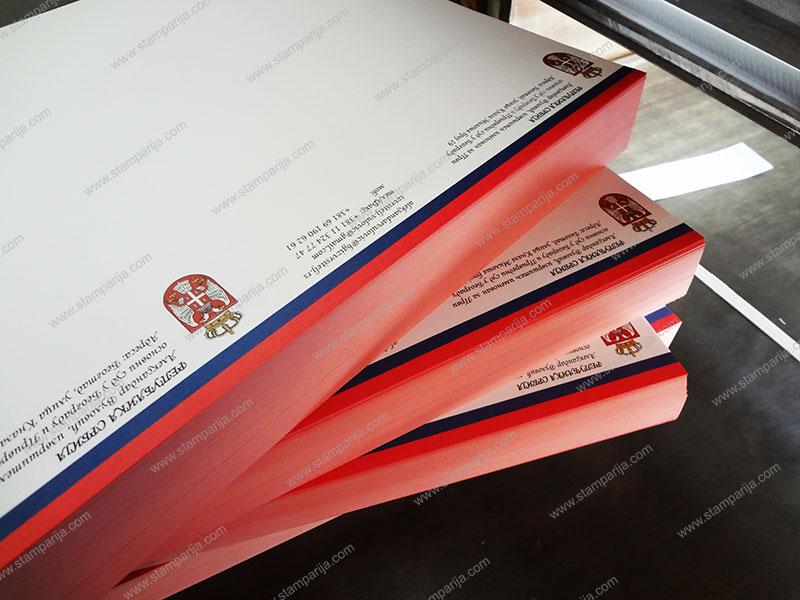 memorandumi, kolorni memorandumi, crno beli memorandumi, stampa memoranduma