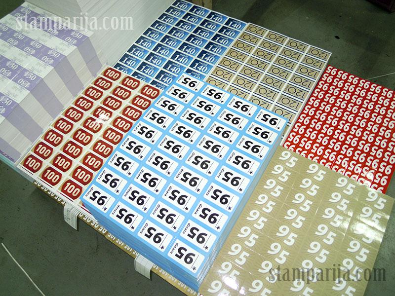 stampanje nalepnica, izrada nalepnica, stikeri,