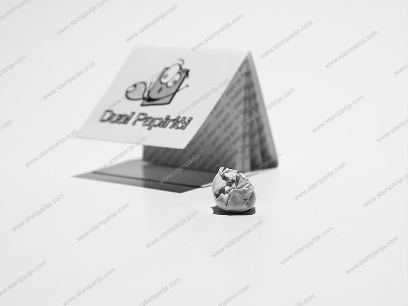 stampanje papirica za zvake