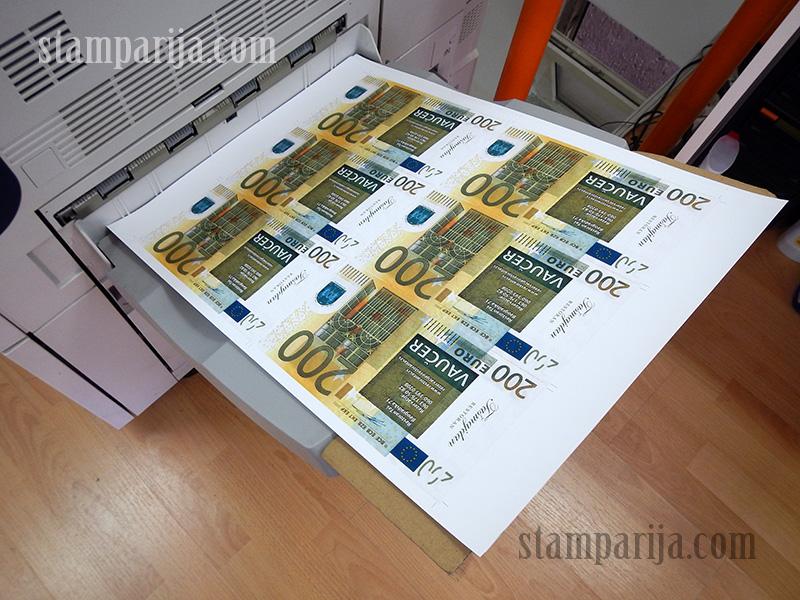 izrada vaucera,stampanje vaucera,stamparija vauceri