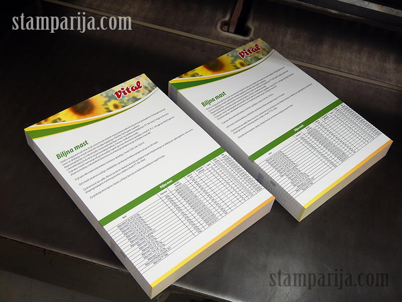 digitalna stampa insertera, stampanje kataloga, stampanje brosura