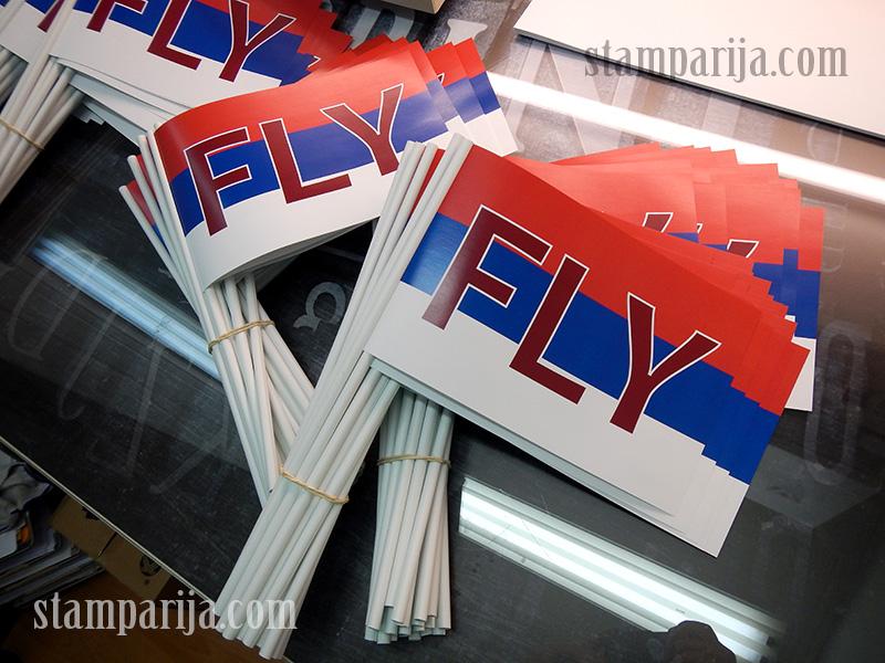 promo zastavice,reklamne zastavice,stampanje zastavica,izrada zastavica